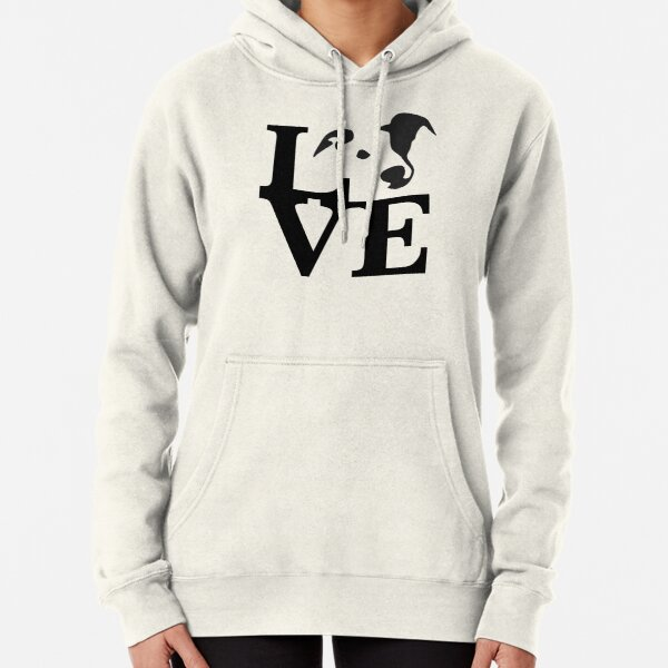 Whippet Love Pullover Hoodie