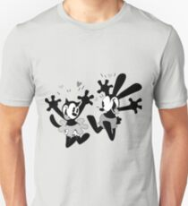 Oswald and Ortensia (B/W) T-Shirt