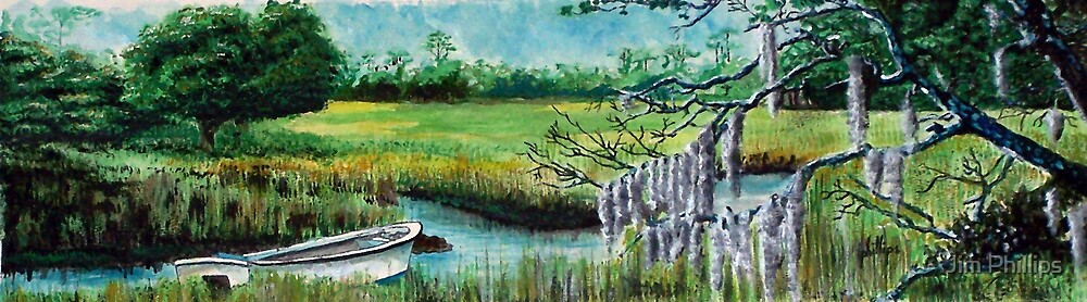 South Carolina Marsh by Jim Phillips