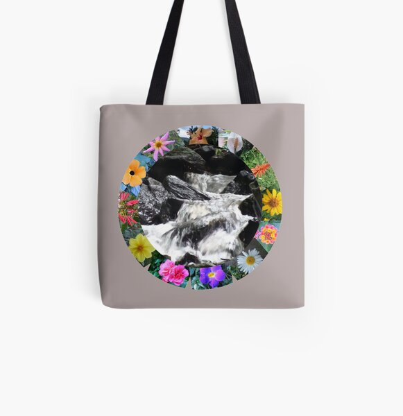 Divine Water All Over Print Tote Bag
