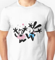 Oswald and Ortensia (Technicolor) T-Shirt