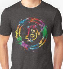 Bitcoin Colors Unisex T-Shirt