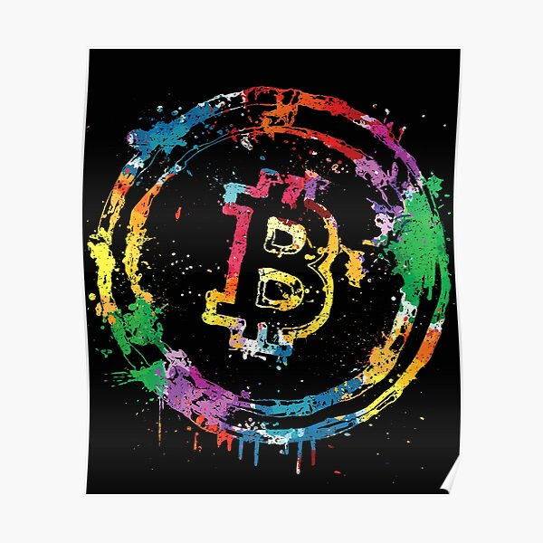 Bitcoin Colors Poster