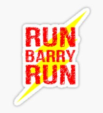 Run Barry run Sticker