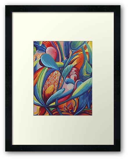 Symphony in Flowers by Jill Mattson