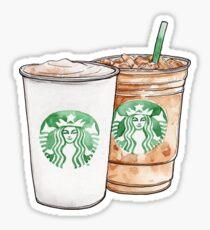 Starbucks Latte Set Sticker
