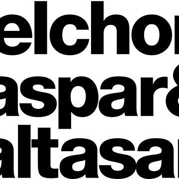 Reyes Magos: Melchor & Gaspar & Baltasar. by soanix