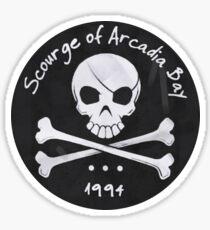 Scourge of Arcadia Bay Sticker