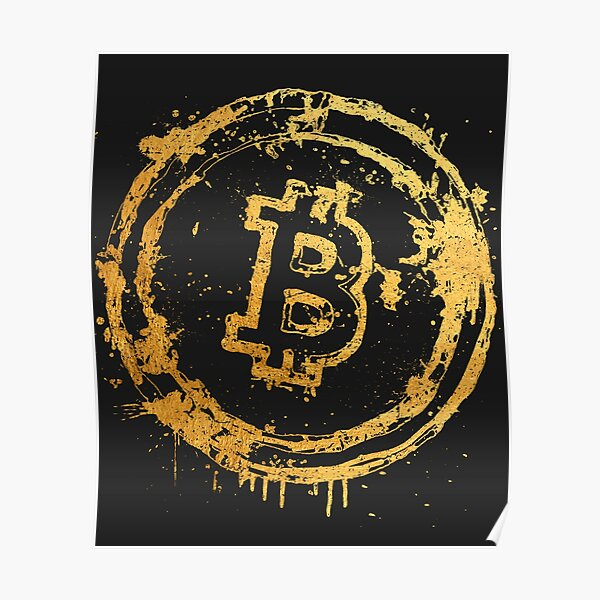 Bitcoin Gold Poster