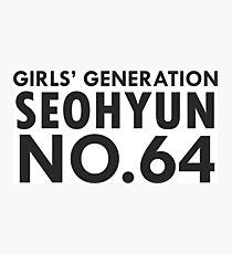 seohyun snsd 64 Photographic Print