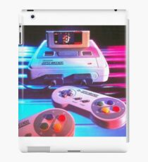 old school video game iPad Case/Skin