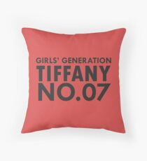 tiffany snsd 07 Throw Pillow
