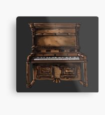 Upright Piano  Metal Print
