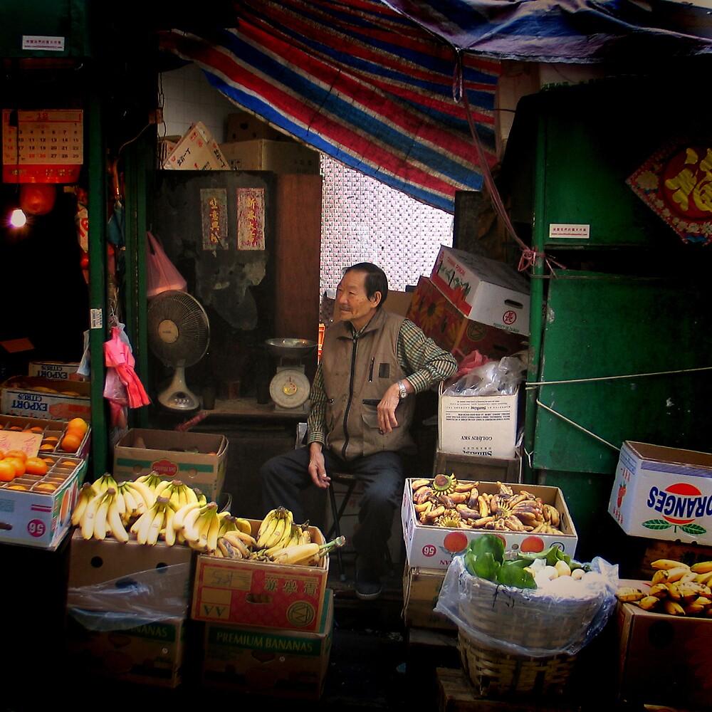 Graham Street Market #6 by Elaine Li