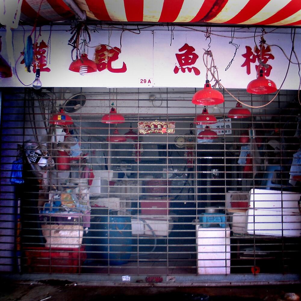 Graham Street Market #5 by Elaine Li
