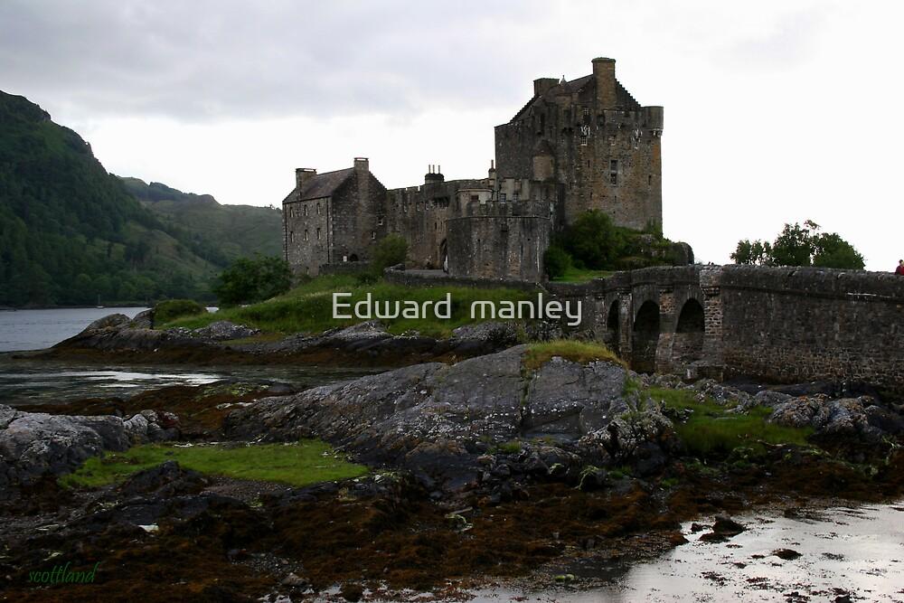 castle by Edward  manley