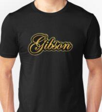 Vintage Gibson Gold  Unisex T-Shirt