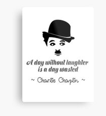 A Day Without Laughter Metal Print