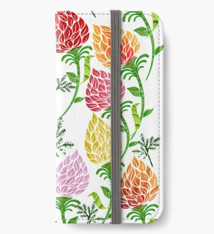 Floral pattern [528 Views] iPhone Wallet