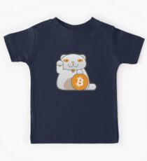 Bitcoin Kitty Kinder T-Shirt