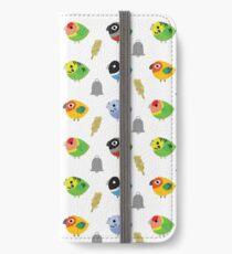 BIRBS - Lil Parrots! iPhone Wallet/Case/Skin