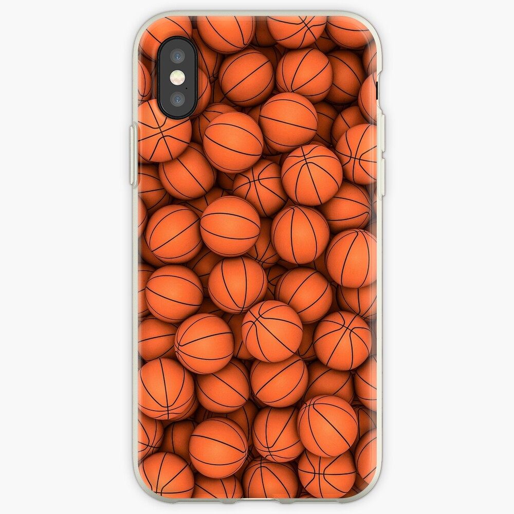 Basketballs iPhone Cases & Covers