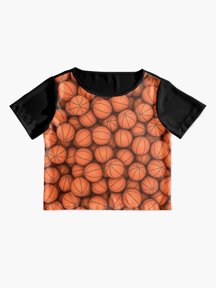 Alternate view of Basketballs Chiffon Top