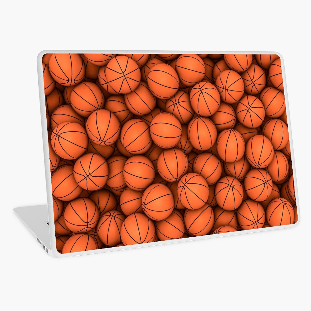 Basketballs Laptop Skin