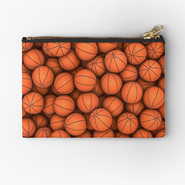 Basketballs Zipper Pouch