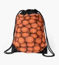 Basketballs Drawstring Bag