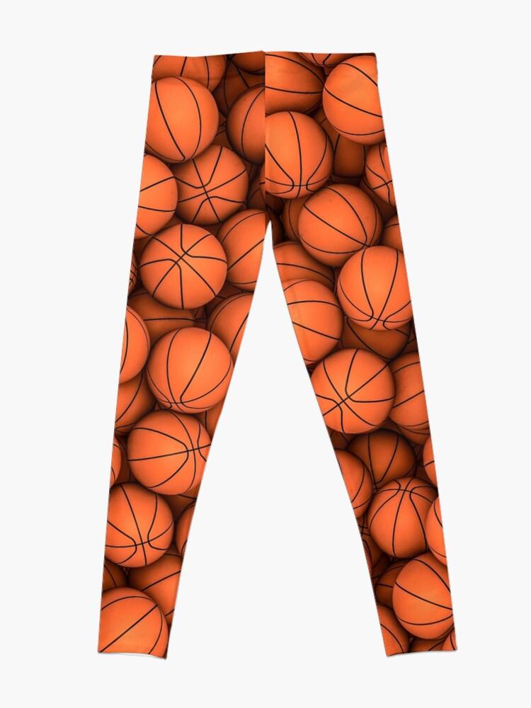 Alternate view of Basketballs Leggings
