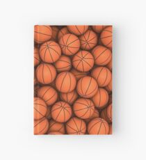 Basketballs Hardcover Journal