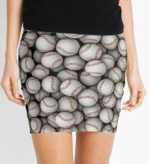 Baseballs Mini Skirt