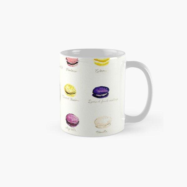 Laduree Macarons Flavor Menu Classic Mug