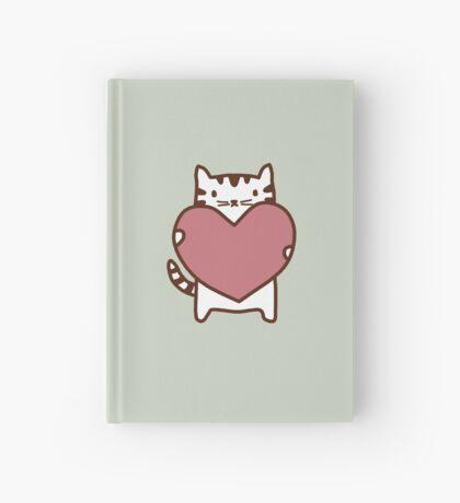 Cat's Heart Hardcover Journal