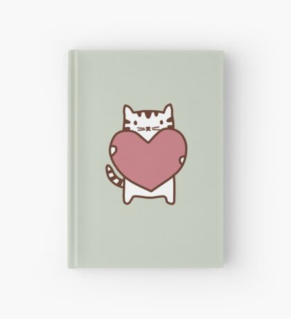 Cat's Heart Hardcover Journal
