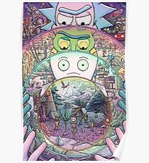 Rick and Morty Multiverse Poster