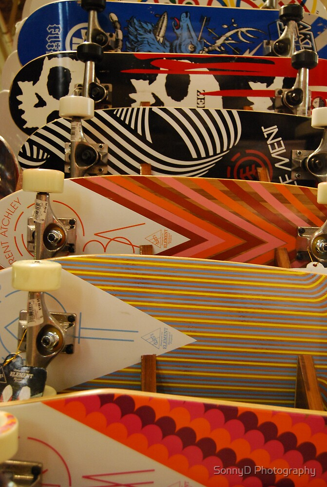 skate boards by SonnyD Photography