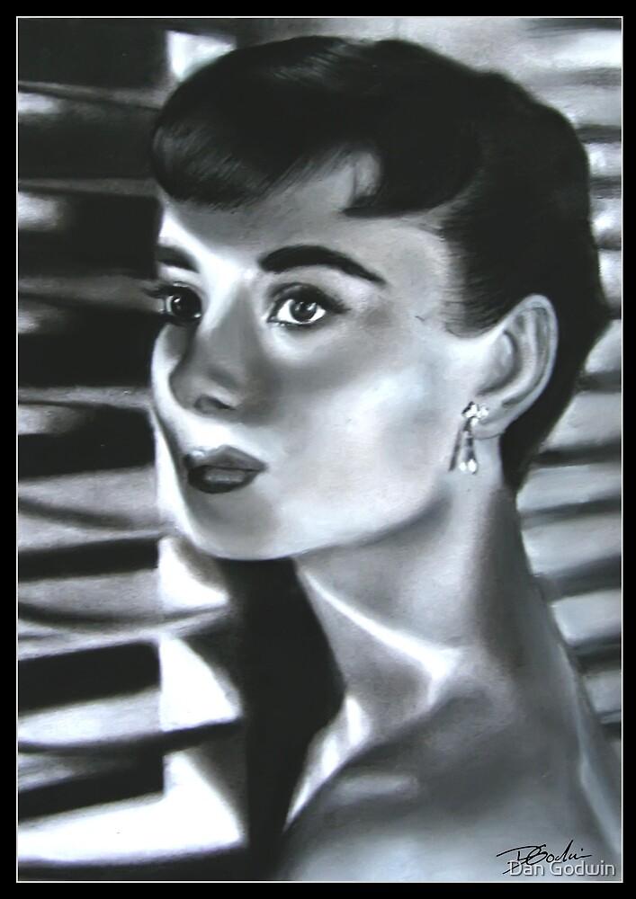 Audrey Hepburn by Dan Godwin