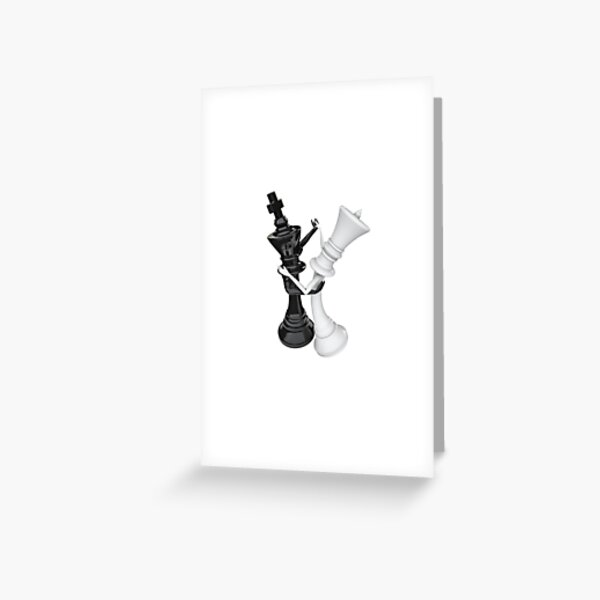 Chess dancers Greeting Card