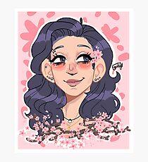 kirstin maldonado - cherry blossoms Photographic Print