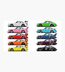 rainbow RWB Photographic Print