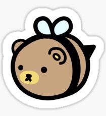 Bumblebear Grizzlybee Sticker