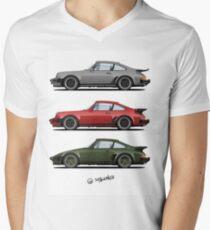 Camiseta de cuello en V Turbos