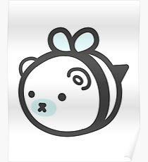 Bumblebear Polarbee Poster