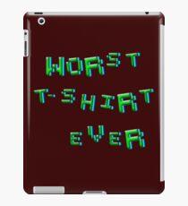 Worst t-shirt ever iPad Case/Skin