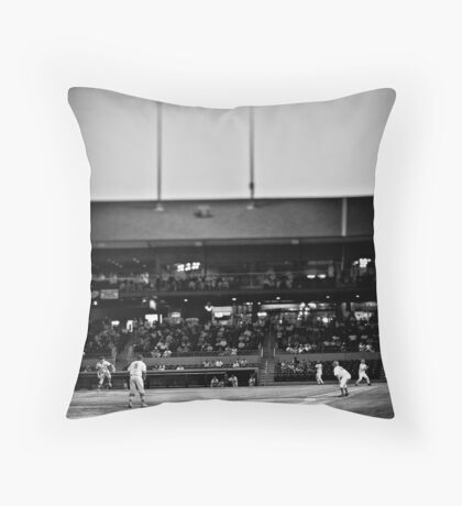 And Here Comes the Pitch Throw Pillow