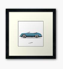 356 Speedster Framed Print