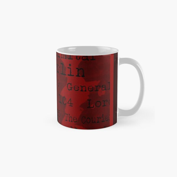 La liste Mug classique