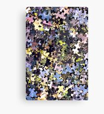 Puzzle Pieces Abstract Canvas Print